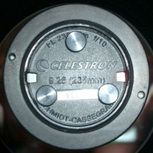 Celestron 9.25 f/10 with Metric Threads